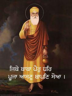 Guru Nanak Photo, Guru Nanak Ji, Sikh Quotes, Gurbani Quotes, Christmas Tree Gif, Baba Deep Singh Ji, Guru Nanak Teachings, Guru Nanak Wallpaper, Shri Guru Granth Sahib