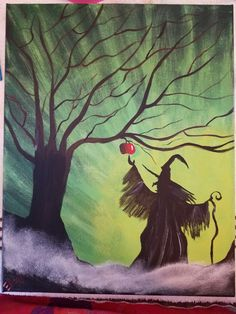 Enchanted Apple from u tube how to paint video