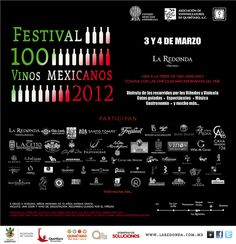 Festival 100 Vinos Mexicanos 2012 / Querétaro