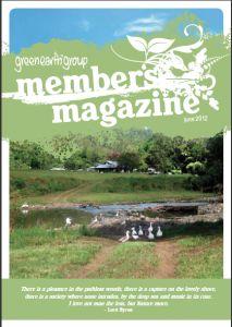 GEG Member's Magazine - June 2012.  View online http://www.issuu.com/greenearthgroup/docs/geg_membermag_mar12_final_web