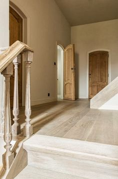 Fabulous finish on these wood floors in a Belgian residence
