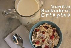 dehydrator breakfast cereal made with buckwheat Gluten Free Breakfasts, Gluten Free Desserts, Healthy Breakfasts, Paleo Breakfast, Breakfast Recipes, Breakfast Cereal, Breakfast Ideas, Real Food Recipes, Healthy Recipes
