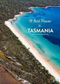 Is Tasmania on your Australia travel bucket list? Don't miss these 19 places! Is Tasmania on your Australian bucket list? Here are 19 of the best places to visit. Oh The Places You'll Go, Cool Places To Visit, Places To Travel, Travel Destinations, Travel Tips, Travel Deals, Great Barrier Reef, Tasmania Travel, Magic Places