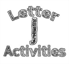 This week's letter was the letter J! All of the crafts, activities, and foods we made were all centered around letter recognition for the letter...