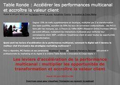 """Invitation à la 21ème Table Ronde """"Stratégies multicanal pour client omnicanal"""" organisée par MC Factory http://www.mcfactory.fr/ en partenariat avec http://www.strategies.fr/, http://www.adobe.com/ et http://www.experian.fr/marketing-services/index.html"""