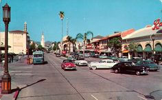 Westwood Village Circa 1950s old Los Angeles LA