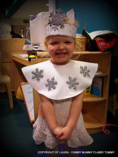 Image result for snowflake nativity costume