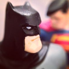 Batman toy photographed by Kevin Cardani on the iPhone 5 using the Instagram app