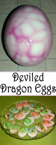 The world of Harry Potter is full of fantastic creatures. One of the most fierce and foreboding creatures in that world is the mighty dragon. So it stands to reason that one of the greatest delicacies would be Deviled Dragon eggs.