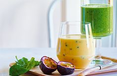This Caribbean-inspired smoothie is packed with tropical fruit and coconut water for a refreshing drink that's perfect as a light breakfast or afternoon pick-me-up.