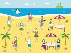 SILL229, 프리진, 일러스트, 생활, 여행, 라이프스타일, 라이프, 벡터, 에프지아이, 사람, 남자, 여자, 단체, 캐릭터, 서있는…