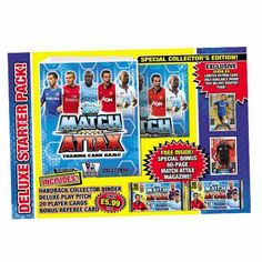 Match Attax 2013 - 2014 Deluxe Starter Pack.