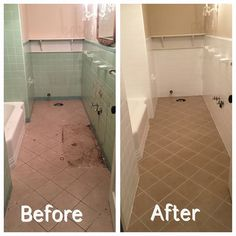 Reglazing for old outdated tile. Save by resurfacing (reglazing ...