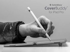 SwitchEasy CoverBuddy iPad Pro Case Boasts a Removable Apple Pencil Holder