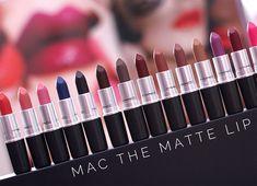 mac the matte lip collection