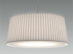 Lampada a sospensione a LED in tessuto PLISSÈ by Olev by CLM Illuminazione