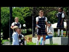 Extended footage of the school girls from The Surface Movement TV commercial - YouTube  How can they look so cool and cute at the same time?