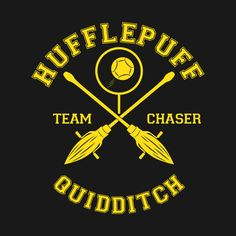 Check out this awesome 'HUFFLEPUFF+-+TEAM+CHASER' design on @TeePublic!