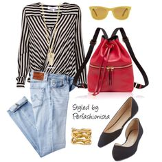 Casual effortless and yet chic inspirational look styled by Perfashionista