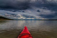 On the Mackenzie River near Tulit'a, Northwest Territories, Canada.