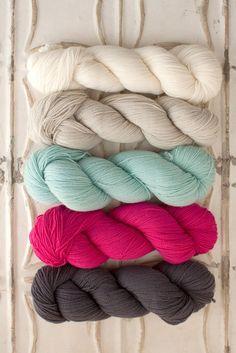 Yarn for Garden House Baby Blanket 1 x Cattail, 2 x Barn Owl, 2 x Cuckoo Flower, 2 x Bee-balm, 1 x Appalachian Stone Yarn Color Combinations, Colour Schemes, Color Palettes, Best Baby Blankets, Blanket Yarn, Crib Blanket, Yarn Inspiration, Yarn Stash, Crewel Embroidery
