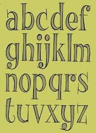 """Résultat de recherche d'images pour """"cute fonts alphabet handwriting"""""""