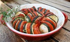 Roasted Tomatoes & Zucchini