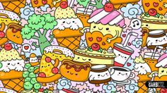 kawaii draw drawings wallpapers garbi kw doodles anime graffiti drawing backgrounds easy
