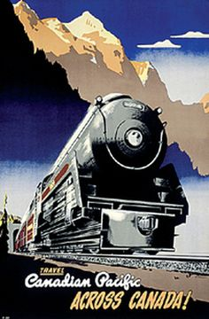 Peter Ewart. A Canadian Pacific passenger train - led by 2-10-4 steam locomotive #5924 - exits one of the famous Spiral Tunnels near Kicking Horse Pass.