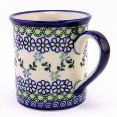 Pattern 368 by #CeramikaKalich. Love their work! #PolishPottery from http://slavicapottery.com