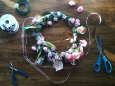 My first DIY #flowercrown ! =D Perfect addition to my summer festival wares