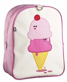 Beatrix New York Little Kids Backpack Dolce & Panna(Ice Cream Cones) Colorful Backpacks, Cool Backpacks, Cream Backpacks, Ice Cream Design, Educational Toys For Kids, School Shopping, Kids Bags, Herschel Heritage Backpack, Baby Gear