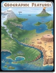 Printables World Geographic Features Worksheet 1000 images about geography on pinterest around the worlds geographic features poster display teaching resource