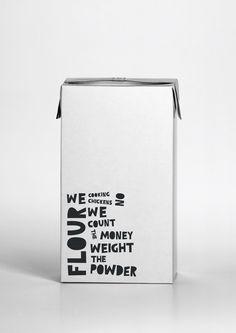 Marcia´s Patisser 2012 by Eva Yarza Hilario, via Behance textual design simple pure space empty clean