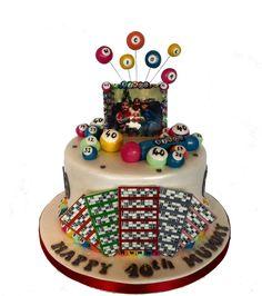 Bingo Birthday Cake - Cake by Storyteller Cakes