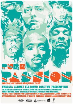 Pure Passion : Hip-Hop Poster by ~iarafath on deviantART