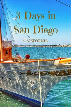 3 Days in San Diego itinerary California USA Things to Do in San Diego