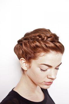 Holiday hair tutorial braid