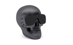 AeroSkull Nano is the smallest portable Bluetooth speaker from Jarre Technologies Wireless Speakers, Bluetooth, Portable Speakers, Skull Jewelry, Apple Products, You Bag, Macbook, Cool Things To Buy, Ipods
