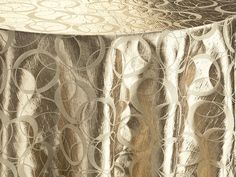 Champagne Halo - Reversed Table Linen