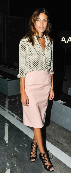 Alexa Chung Goes For Sexy, Not Showy