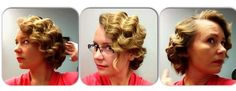 Creating finger waves takes a little patience; here's a step-by-step guide on how to create these vintage waves.: A Vintage Hair Trend ReturnsFinger Wave SectioningCurling Your Hair for Finger WavesCurling Your Hair for Finger WavesBrushing Your Hair Into Finger WavesFinish Your Finger Waves
