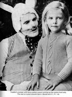 Ok, this is down right scary to me and by the look on that little girl's face, her too!