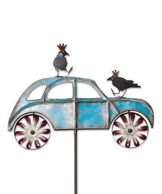 Look at this #zulilyfind! Car Spinner Stake #zulilyfinds