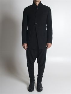 BLACK CELEBRATION - Raw Edged Cardigan Jacket