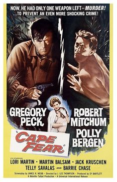 Cape Fear from Where Danger Lives: * Film Noir Poster Countdown Old Movie Posters, Classic Movie Posters, Cinema Posters, Film Posters, Poster Frames, Poster Prints, Poster Poster, Vintage Movies, Old Movies