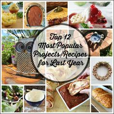 My Turn for Us - Top 12 Most Popular Projects/Recipes for Last Year-Favorite posts