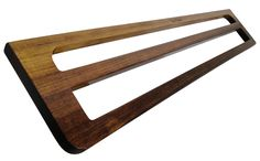Our reclaimed timber double towel rail...