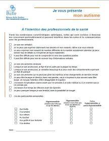 À PARTAGER   Réseau Bulle Québec vous présente un nouvel outil gratuit! Ce document est né suite à l'hospitalisation d'une des fondatrices...