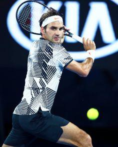 Roger Federer Open d'Australie - Janvier 2017